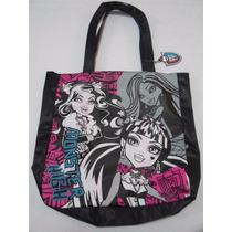 Bolsa Tote Monster High Original Negra