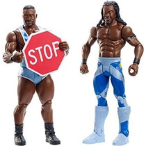 Wwe Battle Pack Serie # 36: Big E Vs Kofi Kingston Figura De