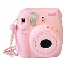Cámara Instantánea Instax Mini 8 Fujifilm De Rollo Rosa