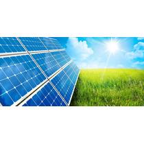 Kit 2 Paneles, 2 Baterias, Inversor, Controles Solar/viento