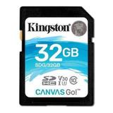 Tarjeta De Memoria Kingston Sdg Canvas Go! 32gb