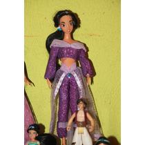 Princesa Jasmin Disney Traje De Gala Morado