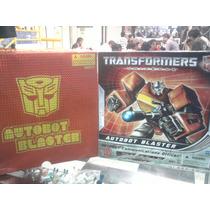 Transformers Blasters Autobot Exclusivo Sd Comic Con 2010