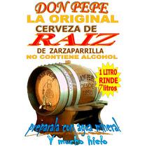 Cerveza De Raíz Don Pepe Original Zarzaparrilla Envió Gratis