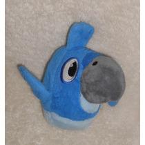 Angry Birds Rio! Peluche De Blu, Super Suavecito! 15cm! Mov9