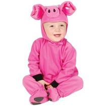 Disfraz De Cerdo, Puerco Para Bebes, Envio Gratis
