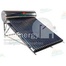 Calentador Solar 20 Tubos. Inox. Meses Sin Intereses