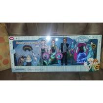 Estuche Deluxe De Frozen Fever Disney Store Ana Elsa Nuevo