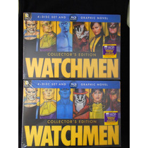 Watchmen Ultimate Cut 4 Discos Bluray + Dvd + Novela Gráfica