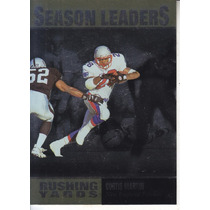 1996 Upper Deck Silver Leaders Curtis Martin Rb Patriots
