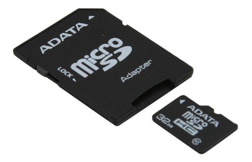 Tarjeta De Memoria Adata Ausdh32gcl10-ra1 Premier Con Adaptador Sd 32gb