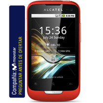 Alcatel Ot-985 Android Cám 3.2 Mpx Wifi Gps Bluetooth Apps
