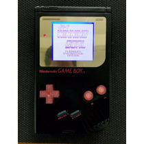 Gameboy Clasico Play It Loud Negro + Backlight