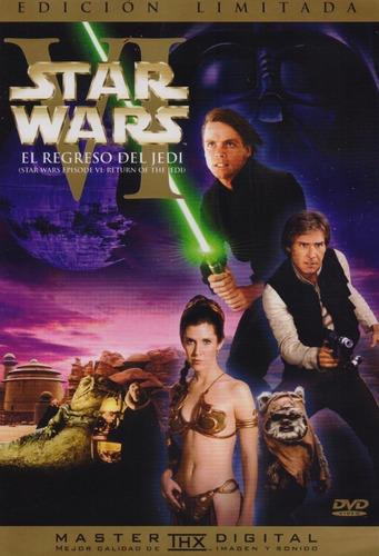 Star Wars Episodio Vi:el Regreso Del Jedi Dvd Película Nuevo