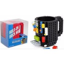 Taza Build-on Brick Diseño Bloques De Construcción Lego