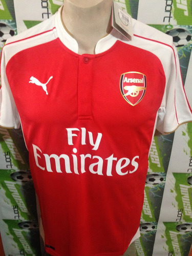 Jersey Puma 100% Original Arsenal De Inglaterra 2016 Local -   549 ... 2343a89feabe8