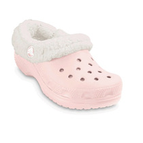 Crocs Kids Mammoth Rosas Con Forro De Lana Talla 17-18