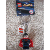 Lego Llavero Superman Con Cicatrices