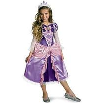 Princesa Enredados Rapunzel Shimmer Costume Deluxe