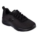 Calzado Skechers Dama 12964bbk Negro