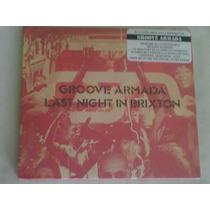 Cd Del Grupo Groove Armada: Last Night In Brixton