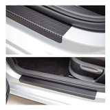 Calcas Protector De Estribos Para Auto Fibra De Carbono 5d