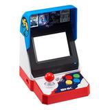 Consola Snk Neo Geo Mini Standard Azul, Blanca Y Roja