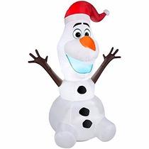 Jh Adorno De Navidad Disney Frozen Olaf 6 Foot Christmas Air