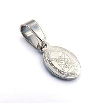1e0df2a54d4 Dije De Acero Plateado Mini Medalla San Miguel Arcangel en venta en ...