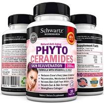 Phytoceramides 350 Mg Cápsulas - Gluten Potente Anti-aging S