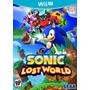 Sonic Lost World Nintendo Wii U Nuevo