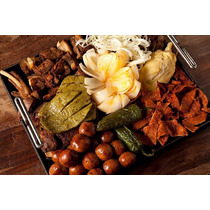Carnes : Tasajo, Chorizo, Cecina, Salchicha