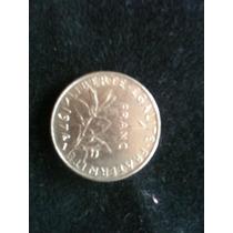 1 Moneda 1 Franco Ya No Esta En Circulacion De 1974