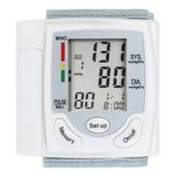 Monitor Lcd De Presión Arterial Medidor De Pulso De Muñeca