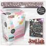 Kit Imprimible Unicornios Arcoiris Pastel Editable Pizarra