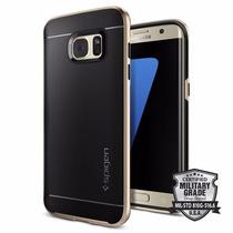 Funda Galaxy S7 Edge Spigen Neo Hybrid Codigo Autenticidad