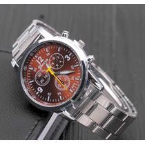 Reloj De Acero Inoxidable Para Hombre Moderno Nuevo Elegante