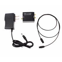 Convertidor De Audio Digital A Analogo Rca Toslink / Coaxial