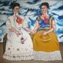 Las Dos Fridas, Pintura Reproducción Oleo, Frida Kahlo, Arte