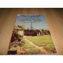 Vendo Libro Partituras De Rachmaninoff Estudios Y Preludios