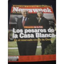 Newsweek Los Pesares De La Casa Blanca, 2005