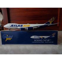 Avion De Carga Boeing 747-8f De Atlas Air 1:400 Gemini Jets