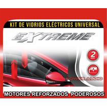 Kit Conversion A 2 Vidrios Electricos Universales