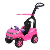 Montable Push Car Adventure Rosa