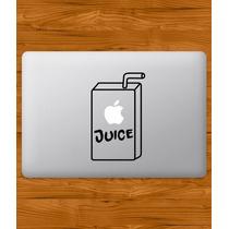 Stickers Macbook Laptop Juice Cupcake Domo Varios Modelos