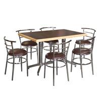 Mesa Y Sillas Bar Antro Restaurante Cafeteria Lounge Ch120e