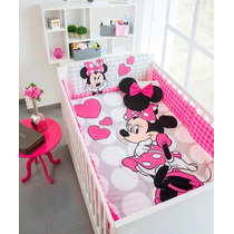92d73f72f Set Edredon Cama Cuna Corral Minnie Disney Chiquimundo en venta en ...