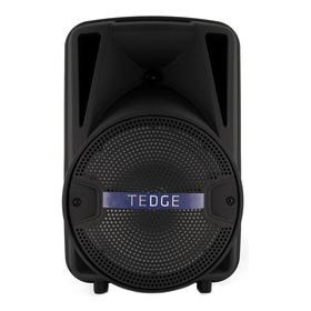 Bocina Tedge 8  Portátil Con Bluetooth Negra