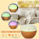 Usb Difusor De Aceite Esencial Ultrasónico Frío Niebla Humid