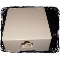 Roseta P/pared Red 8hilos 4prs Rj-45 Utp Ponchar Ethernetvv4